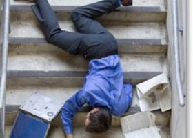 Premises Liability – Trip and Fall – Defective Stairway