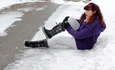 Slip and Fall due to Snow and Ice