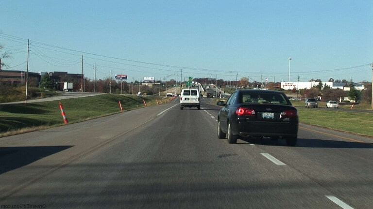 Accidents Caused by Driving in Improper Lanes